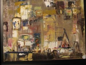 Katherine Garnier - 1er prix peinture