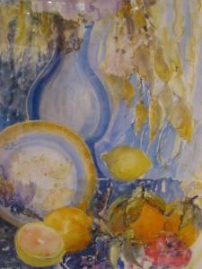 Brigitte Delile 2ème prix de peinture